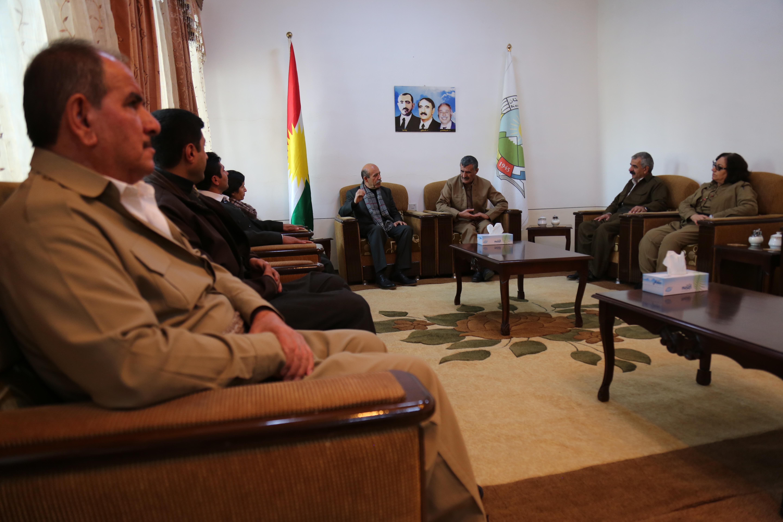 ریاست مشترک پژاک با حزب دموکرات کوردستان، دیدار کرد.