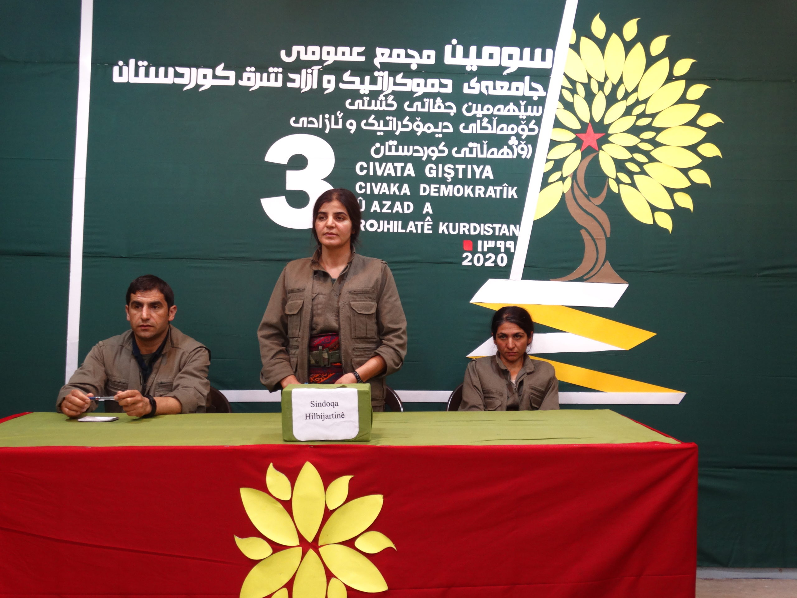 Organize the society and liberate Kurdistan with the revolutionary spirit of the people
