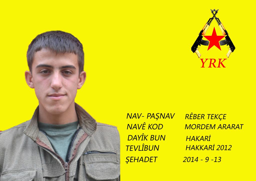 YRK: رمز پیروزی مان شهدایمان می باشند