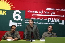 برگزاری ششمین کنگره حزب حیات آزاد کوردستان